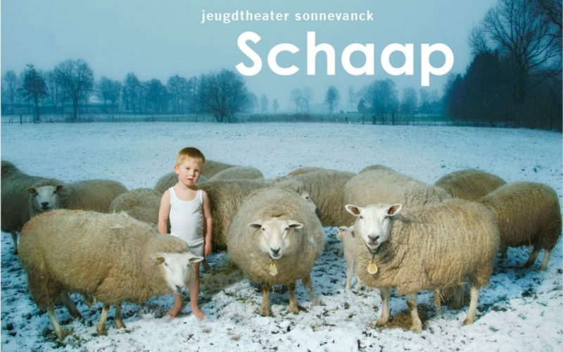 Poster voorstelling Schaap Jeugdtheater Sonnevanck